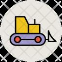 Garbage Crane Concrete Icon