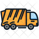 Garbage Transport Trash Icon