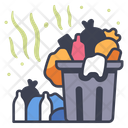 Garbage Trash Litter Icon