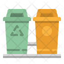 Garbage Trash Truck Icon