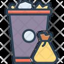 Garbage Trash Can Trash Icon
