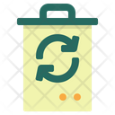 Garbage Bin Delete Icon