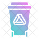 Bin Recycle Garbage Icon