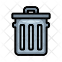 Garbage Can Bin Icon