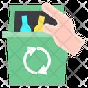 Garbage Hand Trash Icon