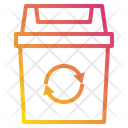 Bin Recycle Environment Icon