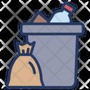 Garbage Garbage Bag Trash Icon