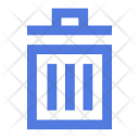 Garbage Litter Bin Icon