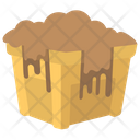 Garbage Mud Waste Icon