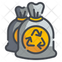 Garbage Bag Trash Waste Icon