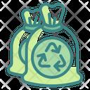 Garbage Bag Trash Waste Icon