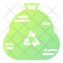 Garbage Bags Trash Recycling Icon