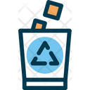 Garbage Can Garbage Recycling Icon
