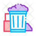 Container Rubbish Trash Icon