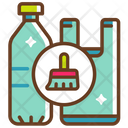 Garbage Cleaning Properly Icon