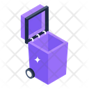 Garbage Container Dustbin Trash Container Icon