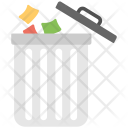 Throwing Garbage Disposal Icon
