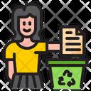 Garbage Paper Garbage Paper Icon