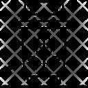 A Plastic Bin Icon