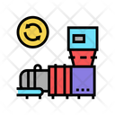 Garbage Recycling Machine Icon