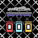 Garbage Sorting Machine Icon