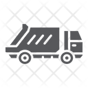 Garbage Truck Transportation Icon