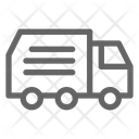Trash Truck Garbage Icon