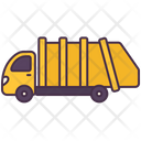 Garbage Truck Transport Icon