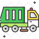 A Garbage Truck Garbage Truck Garbage Vehicle Icon