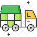 A Garbage Van Garbage Truck Garbage Vehicle Icon