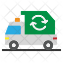 Trash Truck Vehicle Icon