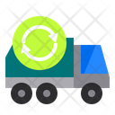 Bin Truck Recycle Icon