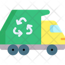 Garbage Truck Garbage Car Ecology And Environment Icon