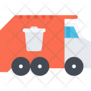 Garbage Truck Delivery Icon