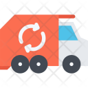 Garbage Truck Ecology Icon