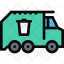 Garbage Truck Vehicle Icon
