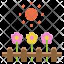 Garden Farm Flower Icon