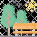 Garden Gardening Park Icon