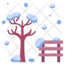 Park Nature Winter Icon