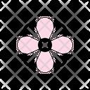 Garden Plant Bloom Icon