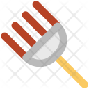 Garden Rake Tools Icon