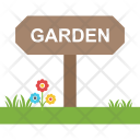 Garden Board Signage Icon
