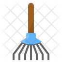 Garden Broom Leaf Icon