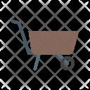 Garden Cart Wheelbarrow Icon