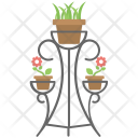 Metal Plant Stand Icon