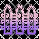 Garden Fence Icon