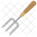 Garden Fork Digging Icon