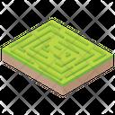 Garden Maze Icon