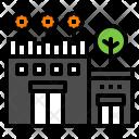 Terrace Building Flower Icon