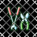 Scissors Gardening Secateurs Icon